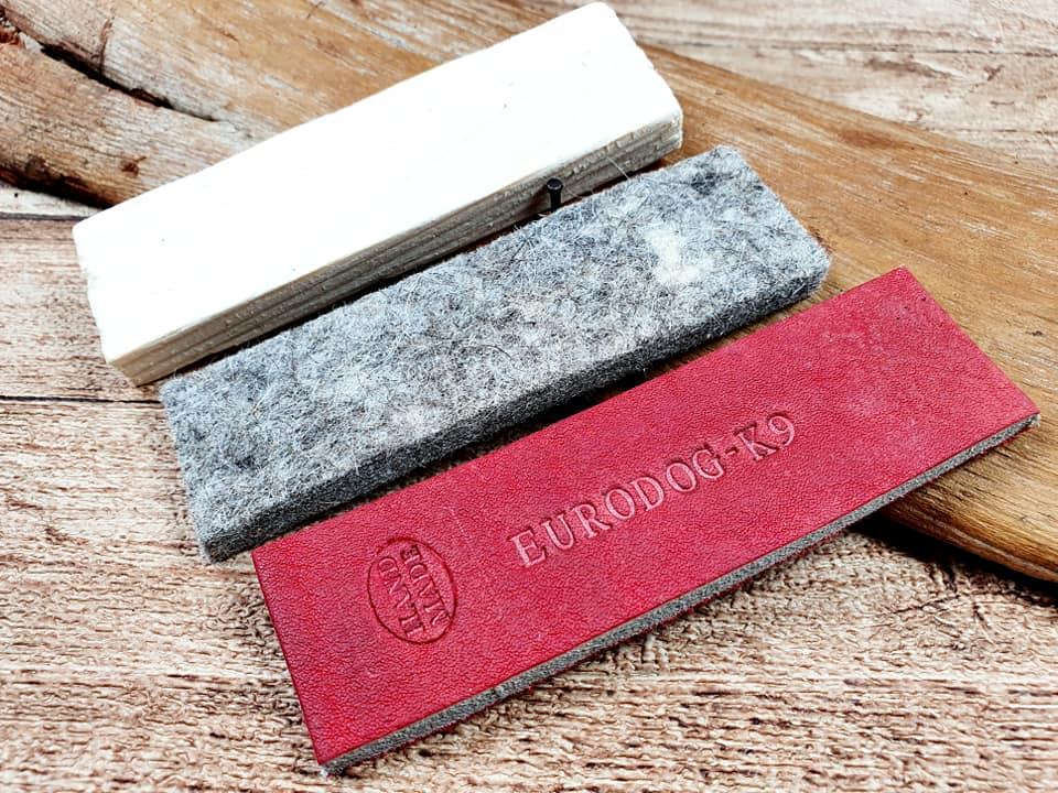 oggetti da pista Materiale: pelle, legno, feltro IGP eurodog
