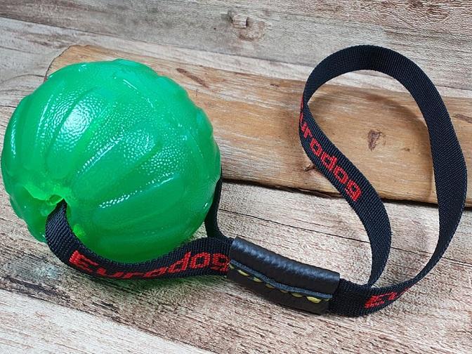 Palla morbida grande con cinturino per Addestramento cani Eurodog